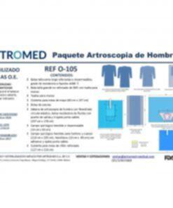 Bulto de ropa Artroscopía de Hombro ARTROMED