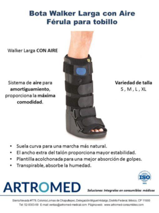Bota Ortopédica Walker Larga con Aire Férula Caminadora ARTROMED