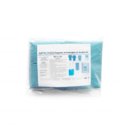 Bulto de Ropa Artroscopia Rodilla Simple O-106 ARTROMED
