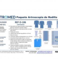 Bulto de Ropa Paquete Simple Artroscopia de Rodilla ARTROMED III
