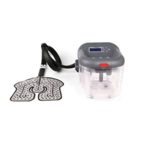 Sistema de Terapia en Frio Crioterapia COOLMAN Motor aislado y pad para Rodilla