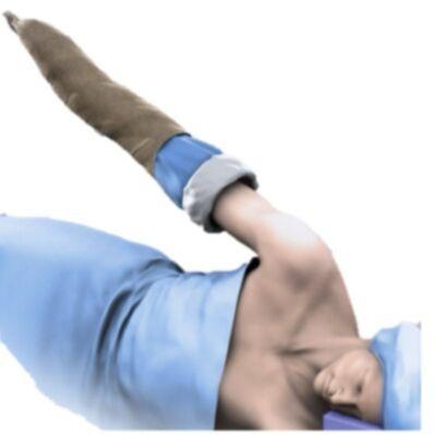 Kit de Tracción Decúbito Lateral para Grúa Artroscopía de Hombro ARTHREX AR-1600 o SMITH & NEPHEW Spider 2 72203299 equivalente a modelos ARTHREX® STAR™ Sleeve AR-1606, ARTHREX® Lateral Arm Traction Sleeve AR-1635, SMITH & NEPHEW® Shoulder Suspension Kit 72200195, DEROYAL®Shoulder Suspension Kit 32-525, ZIMMER BIOMET® Shoulder Suspension Kit 905026, INSTRAMED® Upper Extremity Drape IN-9300CLF