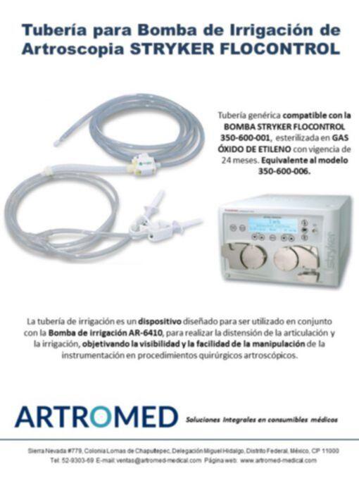 Tubería genérica 350-600-006 para bomba FLOCONTROL 350-600-001
