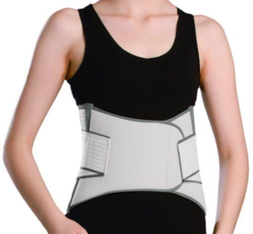 OL-WA110 Faja de Soporte Sacro Lumbar para Dolor espalda o dolor en Deporte Delantera Recortada