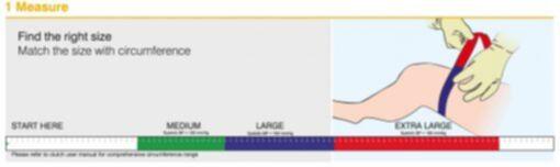Medidas y Tallas Torniquete Estéril para Izquemia Desechable CLUTCH