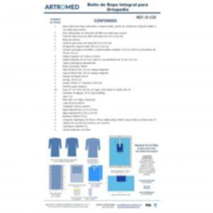 Bulto de Ropa Paquete de Ortopedia Integral para Reemplazo Articular Artroplastia Rodilla y Cadera O-110