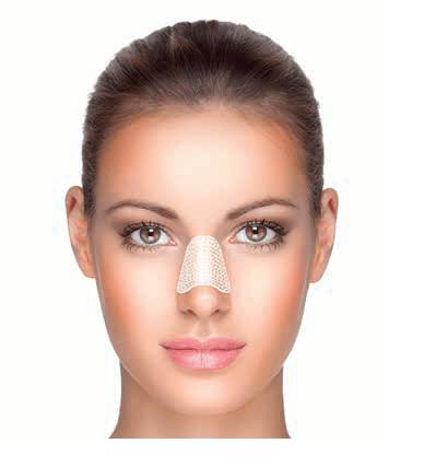 Férula Nasal Aquaplast Color Piel