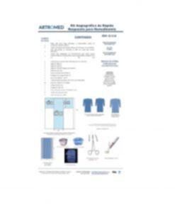 Kit Angiografico De Rápido Respuesta O-114 ARTROMED para Infartos cateterismos stents