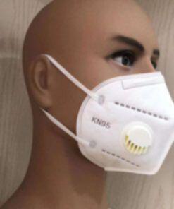 Cubrebocas KN95 Con Micro Filtro Respirador de Aire para Virus Bacteria